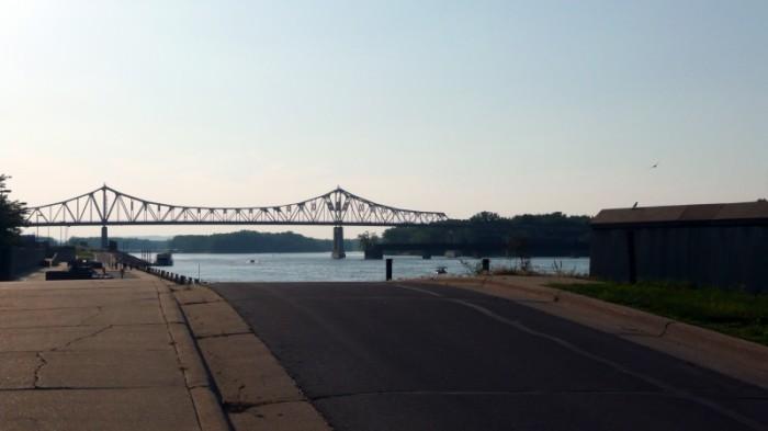 Dusk On The Mississippi River