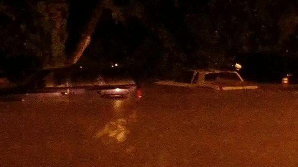 Cars Under Water